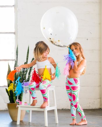 Watermelon Flexi Kids Tights