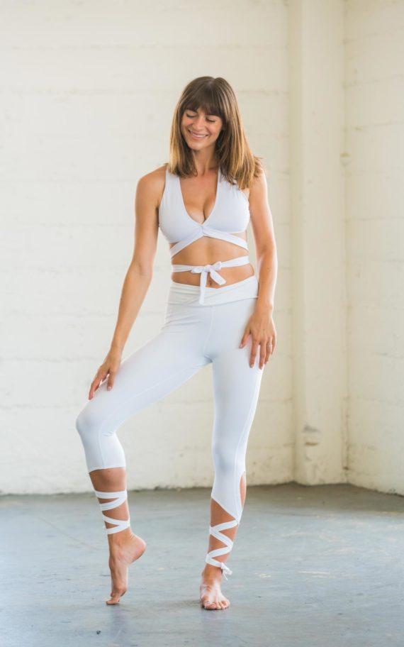 Flexi Lexi White Dancer Leggings