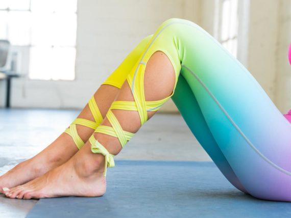 Rainbow Flexi Dancer Leggings