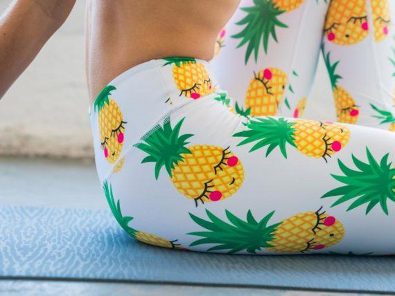 Pineapple Flexi Tights