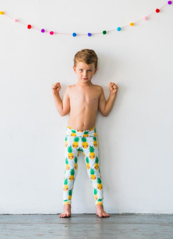 Pineapple Flexi Kids Tights