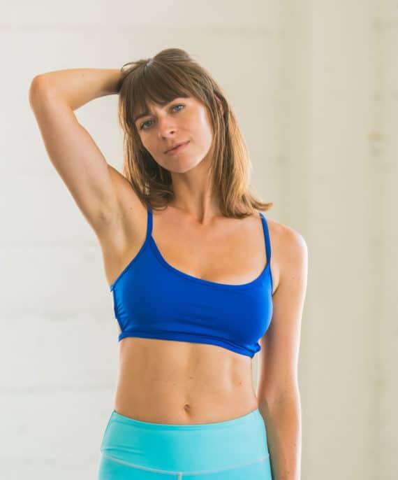 Blue Lexi Bralette