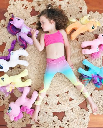 Rainbow Flexi Kids Dancer Leggings