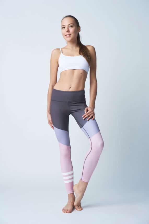 Pink Blush Fash Leggings