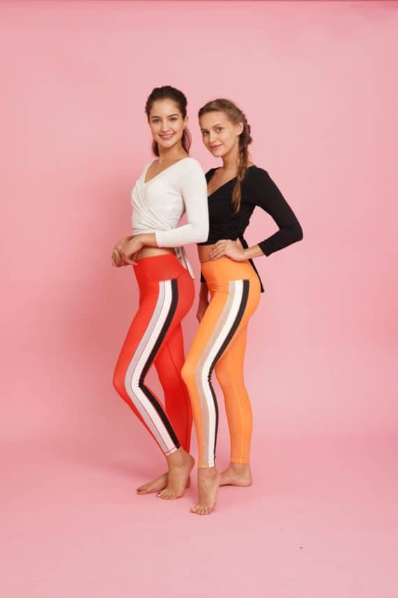 Flame and Fire Flexi Lexi Tights