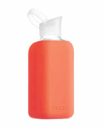 Hauteletics.no - Glass water bottle orange fluor 2